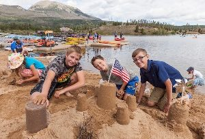 Kids' Sandcastle Competition