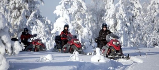 snowmobile tours Breckenridge