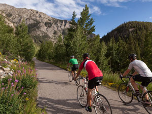 Biking  - Tours, Rentals & Parks in Breckenridge