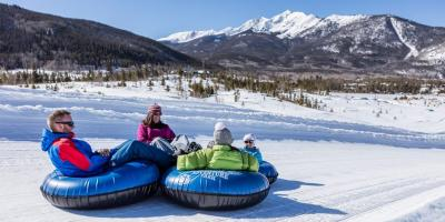Snow Tubing in Copper Mountain