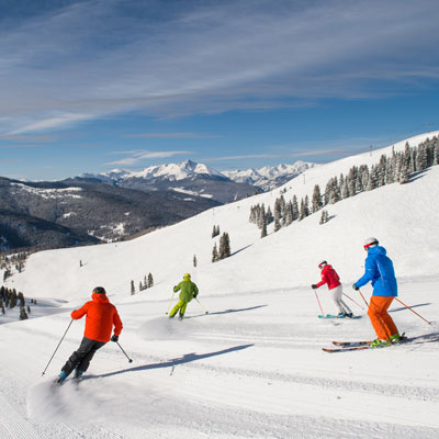 Skiing & Snowboarding in Copper Mountain