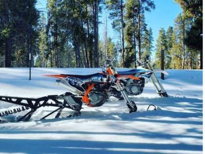 Snow Biking in Dillon