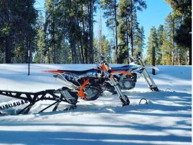 Snow Biking in Keystone