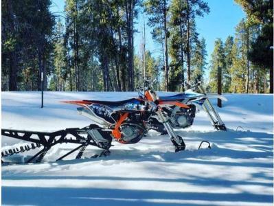 Snow Biking in Breckenridge