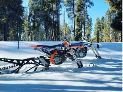Snow Biking in Buena Vista