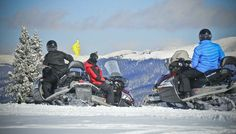 Snowmobiling Tours & Rentals in Breckenridge