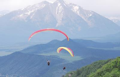 Paragliding in Frisco