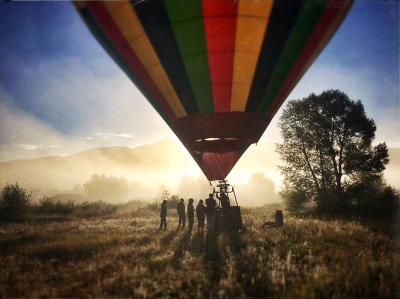 Hot Air Ballooning in Steamboat Springs