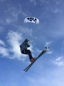 Snow Kiting in Vail / Beaver Creek