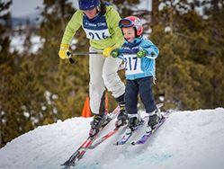 Bubble Gum Ski Race Series